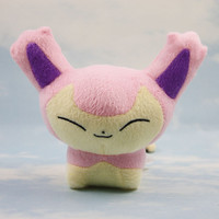 2016 New Pokemon Skitty Plush stand Doll Toy Stuffed Dolls 15cm Figure doll Gifts for children