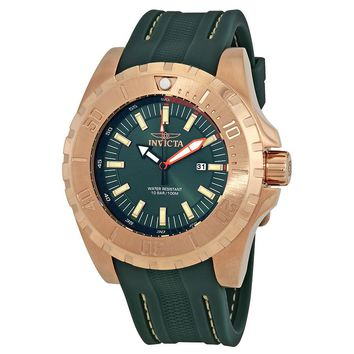 Invicta Pro Diver Green Dial Mens Watch 23731