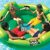 Shock Rocker Kids Swimming Pool Float Raft Tube