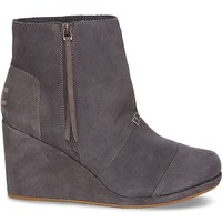 TOMS Desert Wedge High Boot - Women's