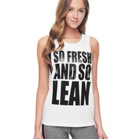 Fresh Lean Muscle Tee by Juicy Couture