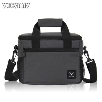 2017 VEEVANV Oxford Thermo Lunch Bags for Kids Women Thermal Bag Lunchbox Insulated Storage Container Picnic Cooler Bags Handbag