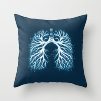I Breathe Music Throw Pillow by Boots
