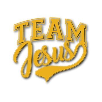 Team Jesus Car Sticker