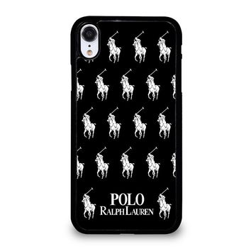 POLO RALPH LAUREN COLLAGE LOGO iPhone XR Case Cover