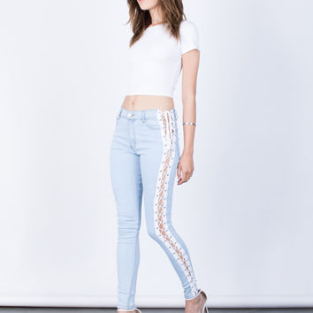 Tied Together Jeans