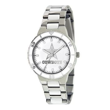 Ladies NFL Dallas Cowboys Mother Of Pearl Watch
