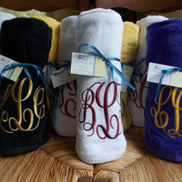 Personalized, Monogrammed Beach Towel