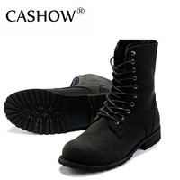 Free shipping!!!Retro Combat boots Winter England-style fashionable Men's short Black shoes`Hot! LS034