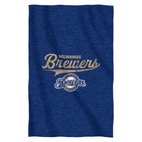 Brewers  Sweatshirt Throw