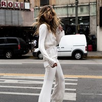 Bella Jumpsuit - Ivory | Stone Cold Fox