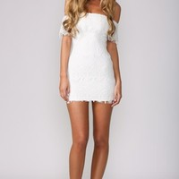 HelloMolly | Angelic Dress White - Dresses