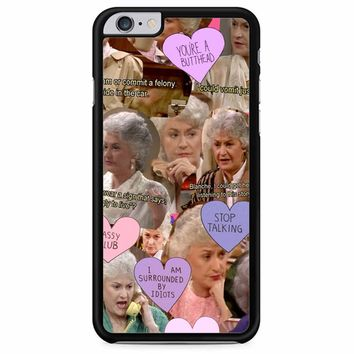 The Golden Girl Collage iPhone 6 Plus/ 6S Plus Case