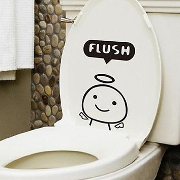 Amazon.com: Cartoon Lovely animal Toilet Sticker