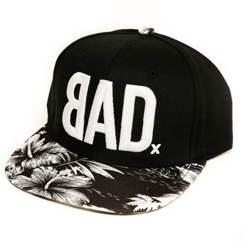 BAD Hat | The Kasum | B&W Hawaiian | Snapback