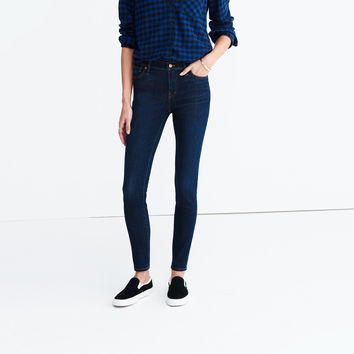 "9"" High-Rise Skinny Jeans in Larkspur Wash : 