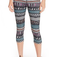 Women's MINKPINK 'Personal Best' Print Crop Leggings,