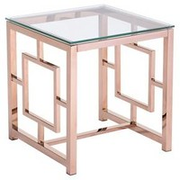Geranium Side Table - Rose Gold - Zuo Modern : Target