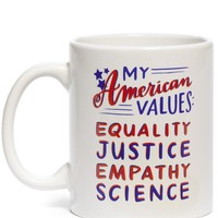My American Values Ceramic Coffee Mug - LAST ONE!