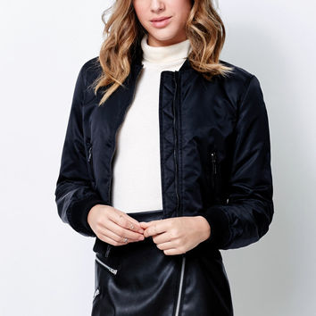 Kendall and Kylie Nylon Bomber Jacket at PacSun.com