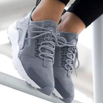 Nike Wmns Air Huarache Run Ultra Sports shoes Grey