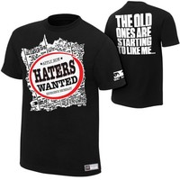 "The Miz ""Haters Wanted"" Authentic T-Shirt - WWE"
