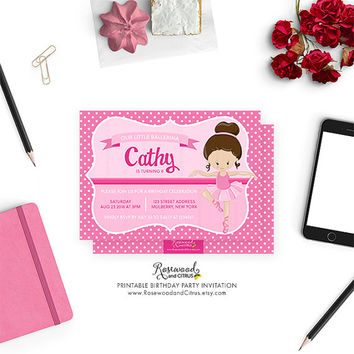 Best Ballerina Invitations Products on Wanelo