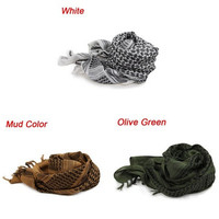 Military Windproof Outdoor Scarf US Army Arab Scarf Mask - 3 Colors