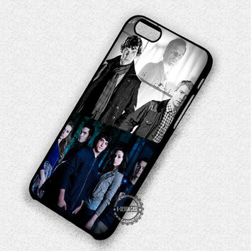 Sherlock and Teen Wolf - iPhone 7 Plus 5 SE 4 Cases & Covers