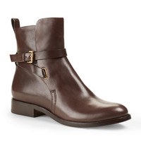 Michael Kors Amaya Leather Ankle Boot