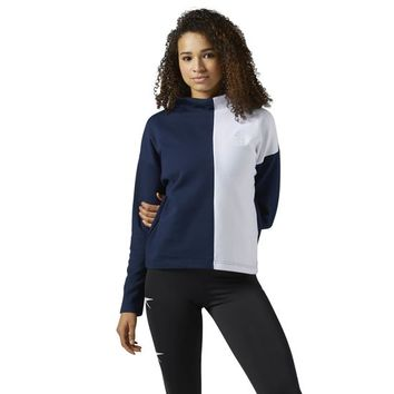 Reebok Classics Mock Turtle Neck Long Sleeve Shirt