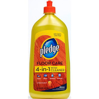 Pledge FloorCare Wood Squirt & Mop - Lemon - 27 oz