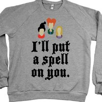 Heather Grey Sweatshirt | Cute Hocus Pocus Halloween Shirts