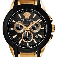 Versace 'Character Chrono' Bracelet Watch, 42mm