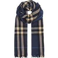 Burberry London Check Crinkled Scarf | Harrods