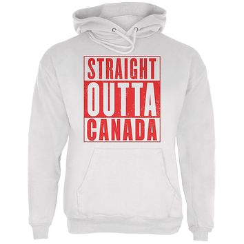 Straight Outta Canada Mens Hoodie