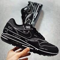 NIKE Max1 Atmos x Air Max 1 Animal Pack 3.0 New fashion hook couple sports leisure shoes