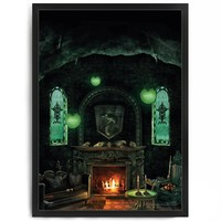 Slytherin Common Room Poster - Pottermore Shop