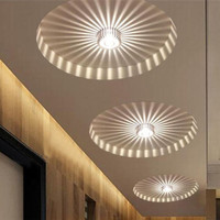 LED 3W White/Warm White Aluminum Ceiling Light Corridor Balcony Pendant Lamp Chandelier Fixture