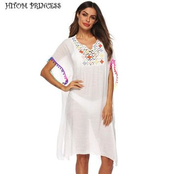 Sunsetter Tunic Tassel Boho, Cover-up