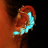 GLOW in the DARK Angel Ear Cuff - Fairy Ear Cuff