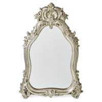 Mirrors, Shell Crown Wall Mirror, Champagne, Wall Mirrors