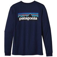 Patagonia Long Sleeve P-6 Logo T-Shirt - Men's
