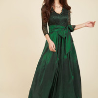 Applaud Your Elegance Maxi Dress | Mod Retro Vintage Dresses | ModCloth.com
