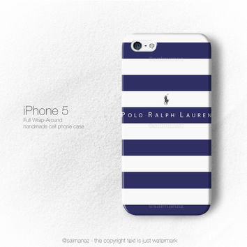 Polo Ralph Lauren Stripe Clothing iPhone 5/5s Case, iPhone 4/4s