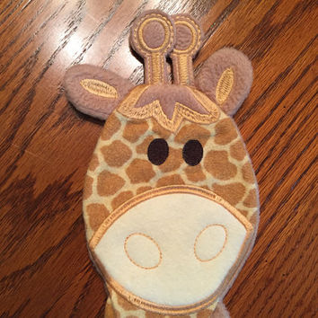 Maddy's Lovie Baby Giraff -  SecurityBlanket