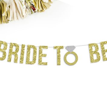 BRIDE TO BE Party Banner