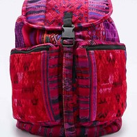 Stella 9 Santiago Patchwork Backpack in Pink - Urban Outfitters