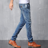 Men Cotton Jeans [6528598403]