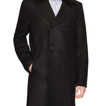 Gabriel Double Breasted Wool Topcoat